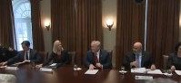 President Trump Hosts a Law Enforcement Roundtable on MS-13