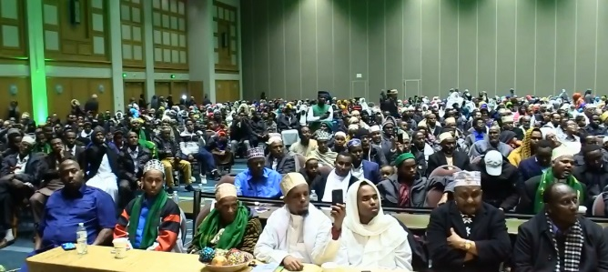 Muslims Gather At Minneapolis Convention Center To Celebrate Muhammad's Birthday