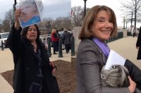 Angel Mom Confronts Congresswoman Susan Davis