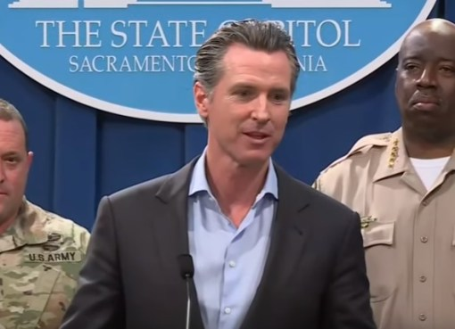 Gavin Newsom holds press conference regarding withdrawal of California National Guard from U.S.-Mexico Border