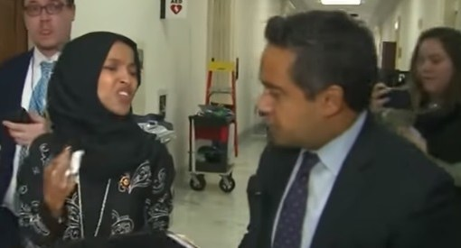 "Ilhan Omar tells CNN reporter ""What is wrong with you?"""
