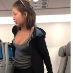 Drunk woman freaks out on airplane