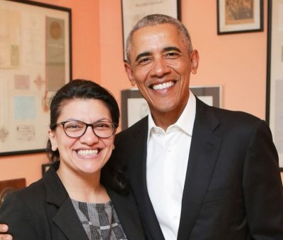 "Barack Obama tells Rashida Tlaib ""I'm proud of you"""