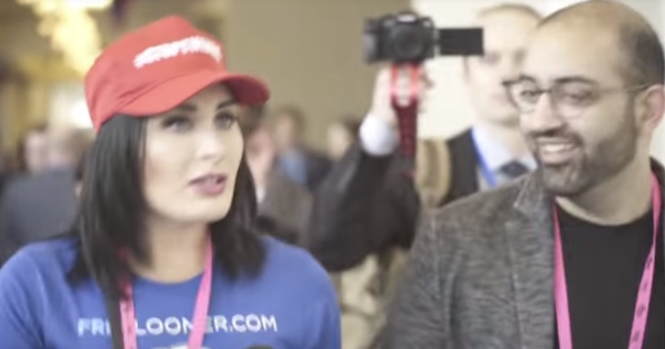 laura loomer confronts cnn reporter