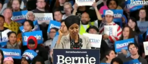 "Ilhan Omar: ""I'm excited Bernie will fight against western imperialism"""