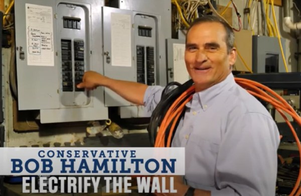 Bob hamilton electrify the wall ad