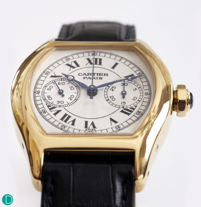 The Cartier Tortue Monopoussoir. Magnificently executed, beautifully made.
