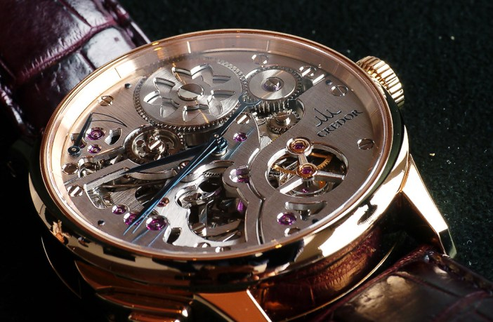 The Credor Minute Repeater. Spring Drive movement.