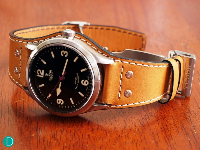 The Tudor Ranger, with the Bund Strap option.