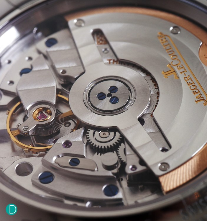 The watch is powered by Jaeger-LeCoultre's in-house Calibre 866.