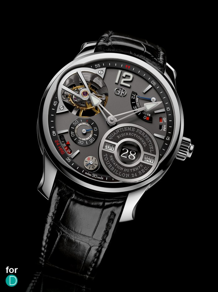 Greubel Forsey Quantième  Perpetual à Équation: the realization of Invention no 7.
