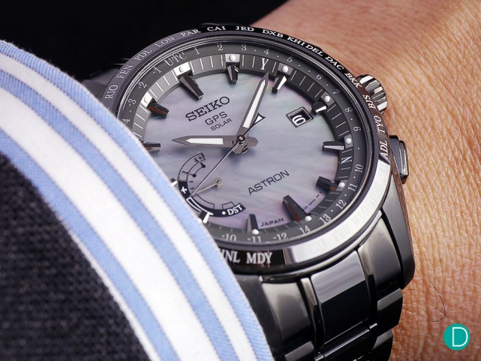 The new Astron GPS, featuring the upgraded 8X22 movement.