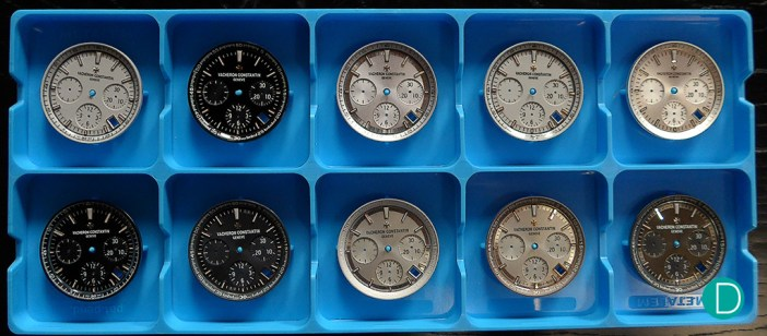 VC dials, and the design iterations. Subtle, small changes make big differences to the final look of the watch.