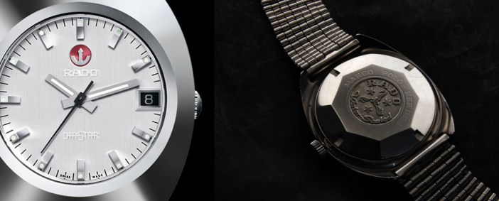 The re-issue of the 1962 Rado DiaStar from Baselworld 2012