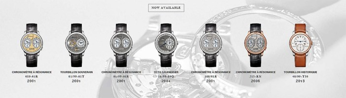 The F.P. Journe Patrimoine watches which are available now (October 9, 2016)