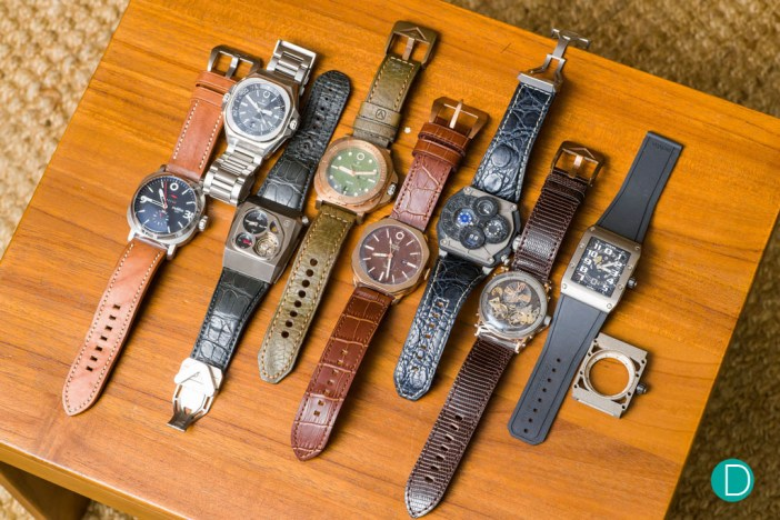 The development of Movas Watches, arranged chronologically.
