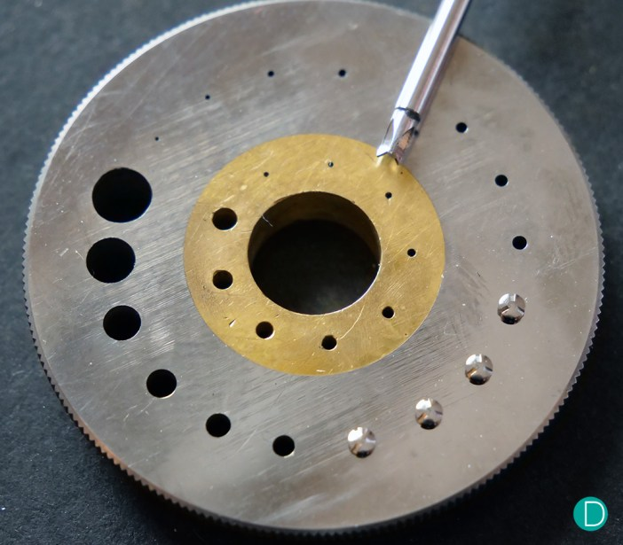 Vault watches bespoke screws and tools