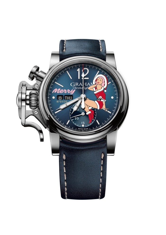 Graham Chronofighter Vintage Nose Art Ltd - Merry