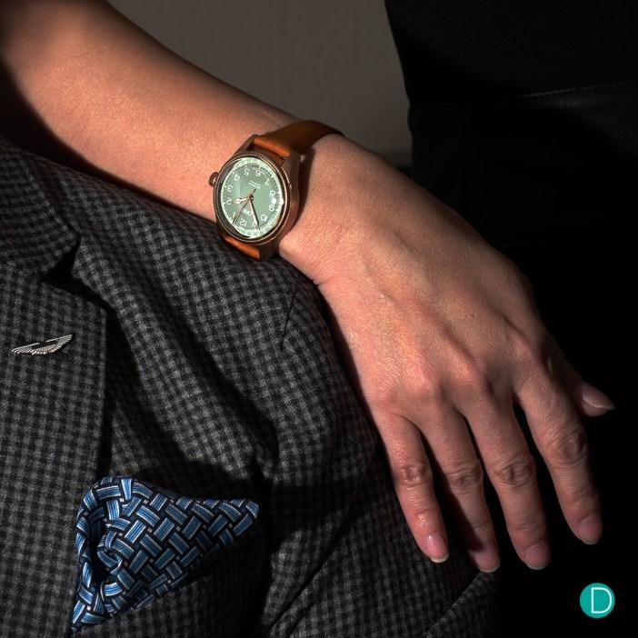 Oris Big Crown Pointer Date wrist shot