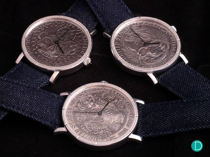 Corum Heritage Hobo Coin Watches
