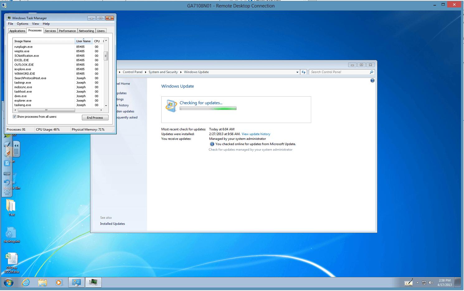 DeployHappiness | Concurrent Remote Desktop (CRDP) for