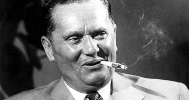 Josip Broz Tito: Nisam dao Rusima i Amerima da nam s... po glavi, a vi brišite sada guzice Švabama i EU!