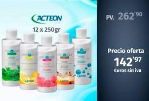 AIR-N-GO Polvos Classic frascos 4x250gr. Acteon