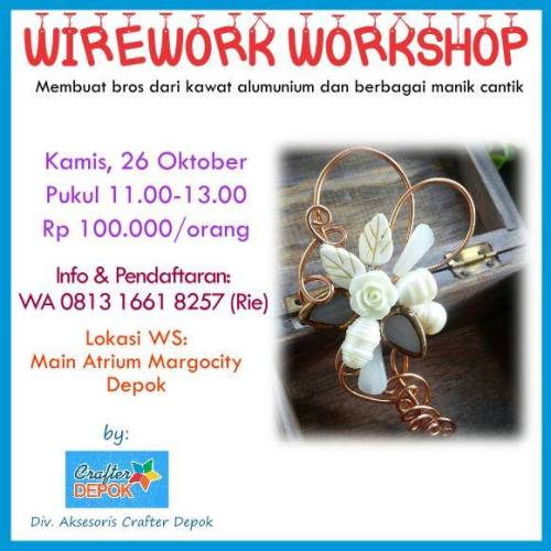5th Margo City Arts and Crafts Wirework Workshop