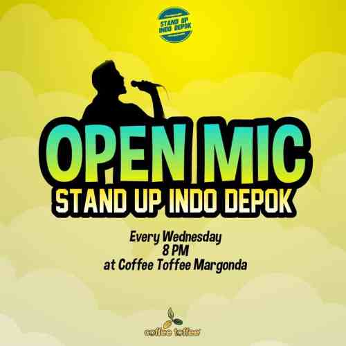Open Mic Stand Up Indo Depok Coffee Toffee Margonda