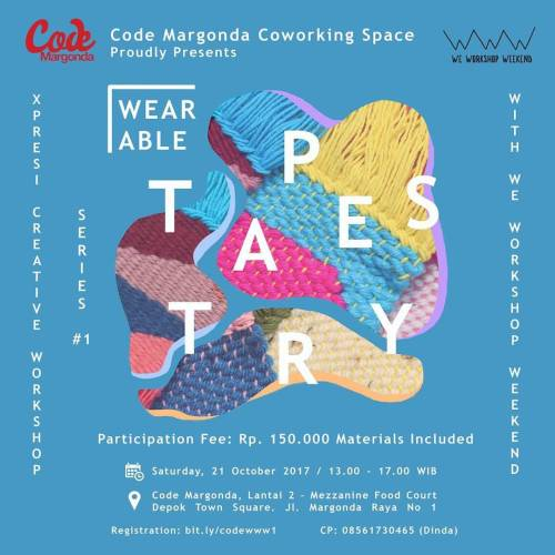 Xpresi Creative Workshop Series 1 Code Margonda