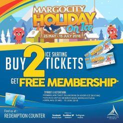 Promo Buy 2 Get Free Membership Margo City Holiday On Ice Skating 2018