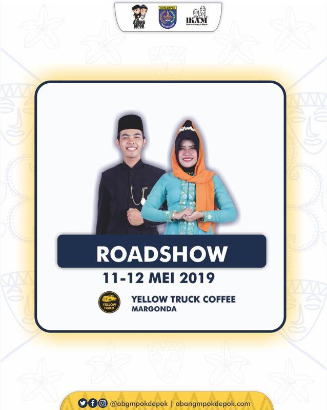 Roadshow Abang Mpok Depok 2019 di Yellow Truck Coffee Margonda 11-12 Mei 2019