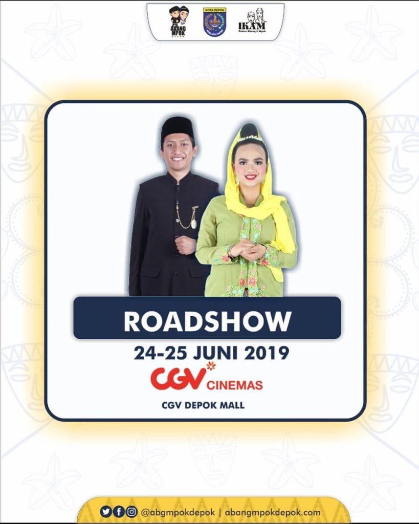 Roadshow Pemilihan Duta Pariwisata Abang Mpok Depok 2019 24-25 Juni 2019 CGV Cinemas Dmall