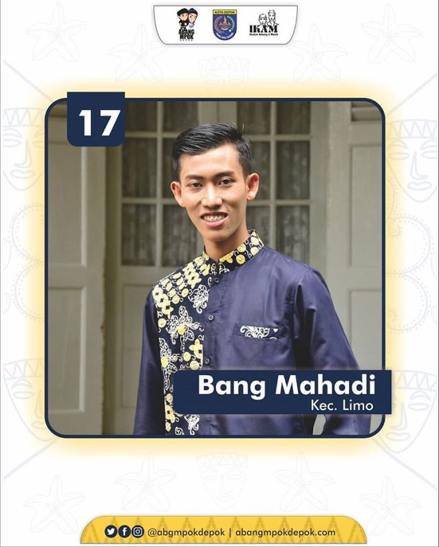 17 Finalis Abang Depok 2019 Mahadi Nugroho