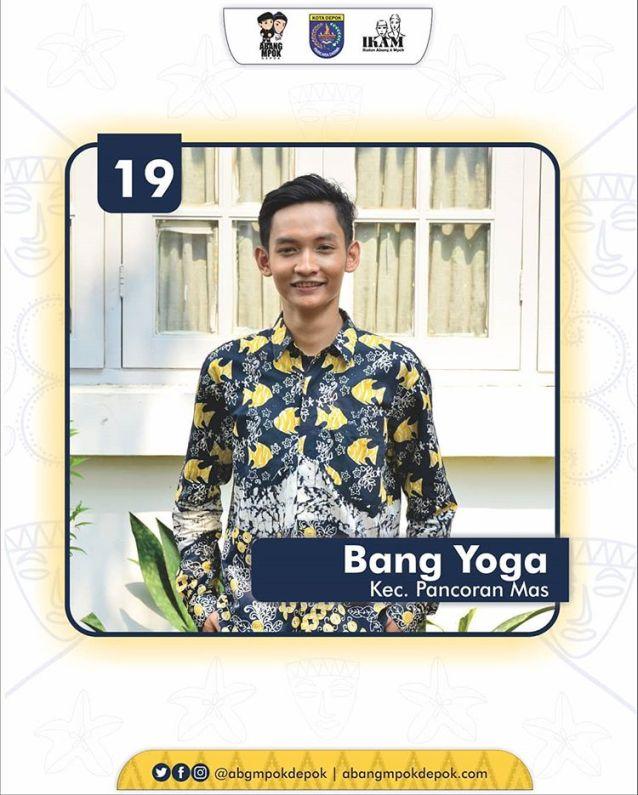 19 Finalis Abang Depok 2019 Yoga Triadmaja