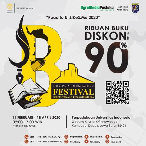 THE CRYSTAL OF KNOWLEDGE FESTIVAL di Perpustakaan Universitas Indonesia Depok 2020