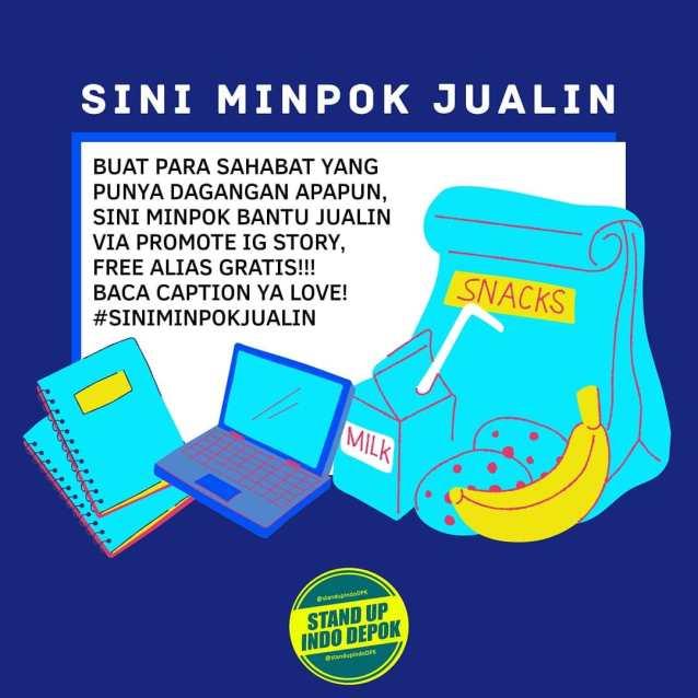 #siniminpokjualin Komunitas Stand Up Indo Depok