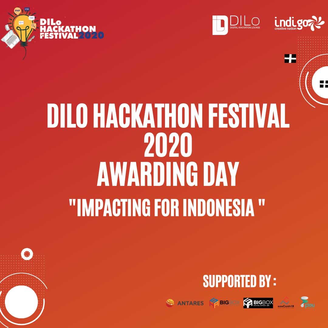Awarding Day DILo Hackathon Festival 2020