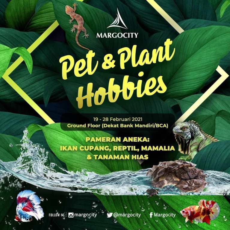 PET & PLANT HOBBIES di MARGOCITY Februari 2021
