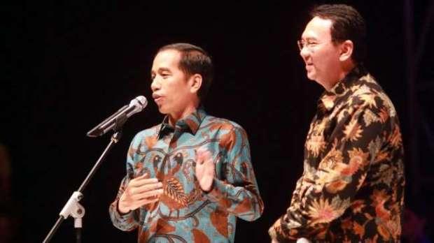 Ahok bilang Jokowi adalah bosnya di bidang politik.