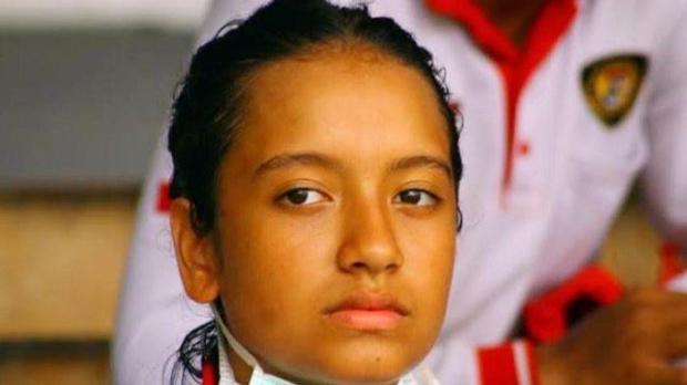 Akhirnya Gloria Natapraja bergabung ke tim Paskibraka.