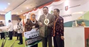 SDIT Al Haraki Depok juara pertama lomba sekolah sehat tingkat nasional.