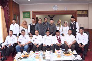 Forum Pembauran Kebangsaan beraudiensi dengan Walikota Depok.