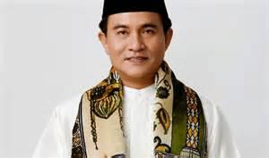 Yusril Ihza Mahendra calon Gubernur DKI Jakarta.