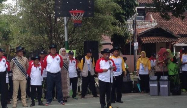 Walikota Depok Mohammad idris meresmikan gerakan Aksi Ketuk Pintu.