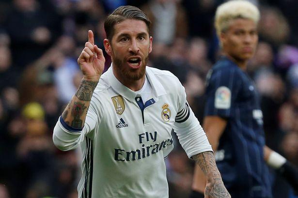 Real-Madrids-Sergio-Ramos-celebrates-his-goal-against-Malaga