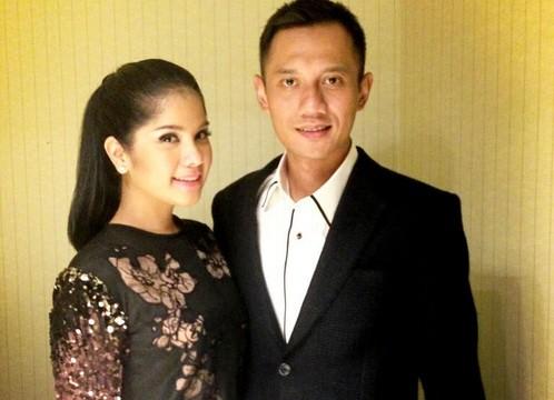 Annisa Pohan bersama suaminya, Agus Harimurti Yudhoyono.