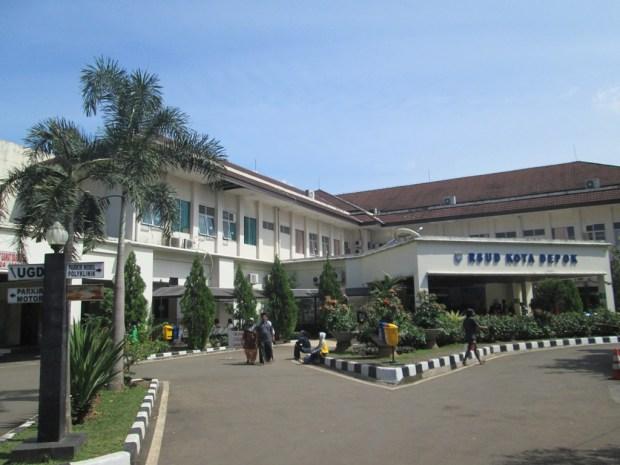 RSUD Kota Depok di Sawangan.