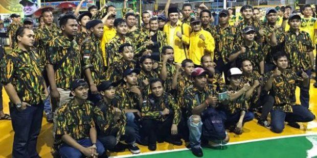 Sebanyak 32 tim ikut turnamen bola voli AMPG Cup di Depok.