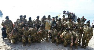 23 gubernur mendapat pembaretan dari Panglima TNI di Natuna.